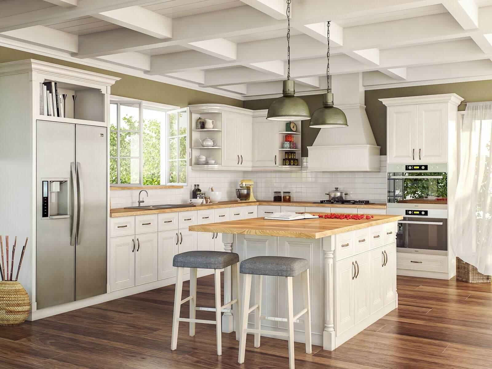 Alexandria pearl - kitchen-wholesalers-All Kitchens-cabinets