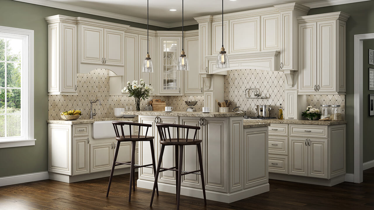 wheaton white elegant kitchen