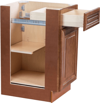hudson light brown cabinet with drawer