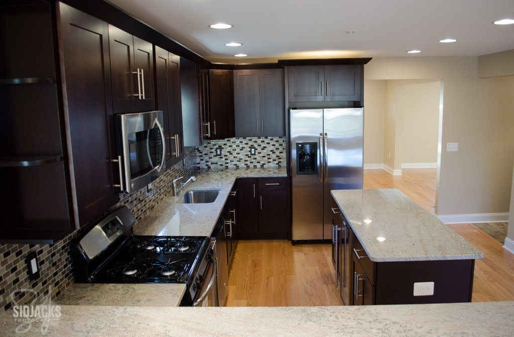 Elegant Expresso Kitchen