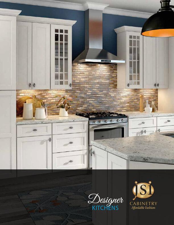 JSI designer kitchen brochure cover white