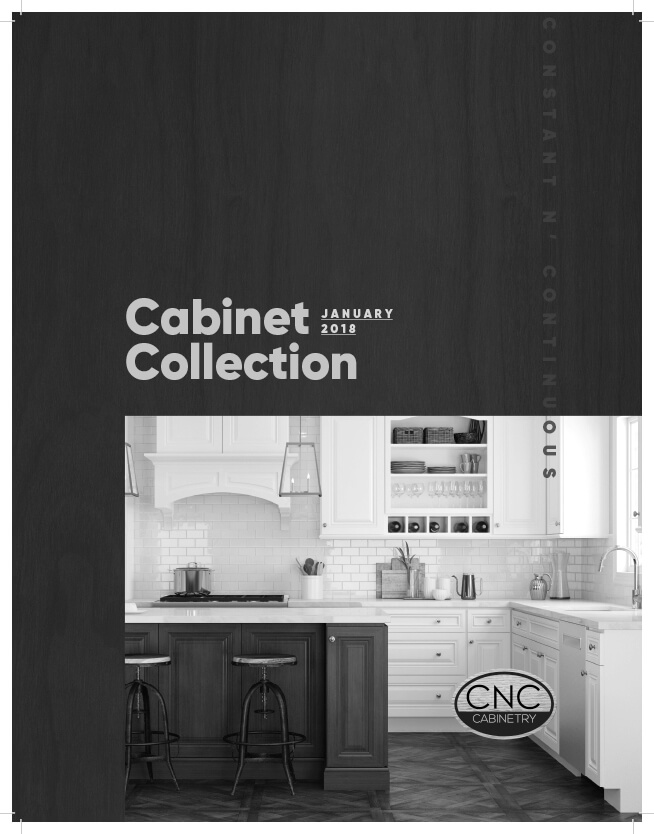 CNC brochure custom cabinet