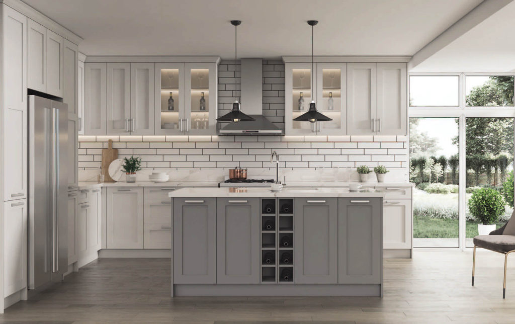 delight kitchen solid wood shaker
